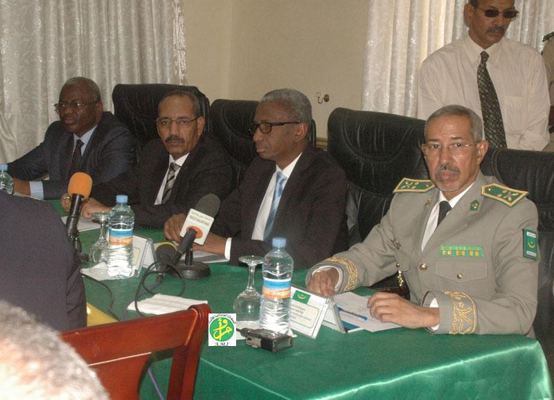 R union pr paratoire du projet d 39 cole r gionale de guerre for Chambre de commerce mauritanie