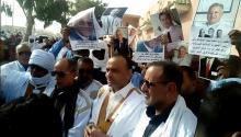 L'ex candidat SM Boubacar et les députés Khalil Tiyib et yahya sid El moustaph
