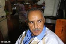 Cheikh Ould Baya, président du Parlement mauritanien