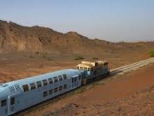 Train du désert en Mauritanie